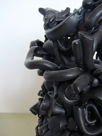Detail, BlackVase Object 1
